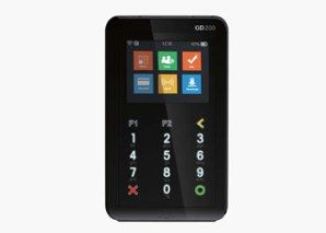 D200 Bluetooth smart card, mag stripe & PIN pad POS terminal