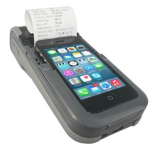 "PP60 2"" Printer + 2D Scanner + Mag stripe for iPOD Touch 4"
